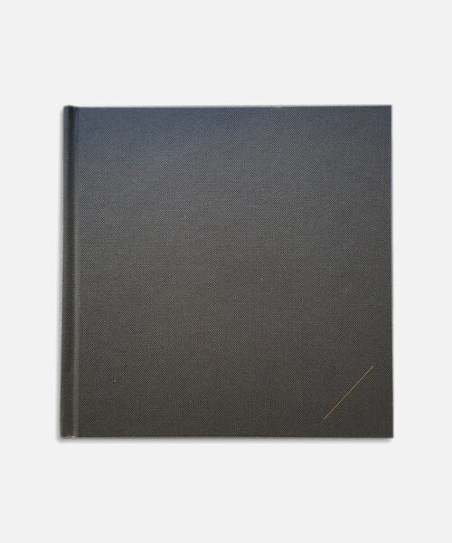 blank book grey notebook