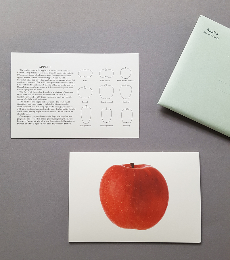 apples card set