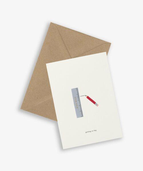 greeting card ruler