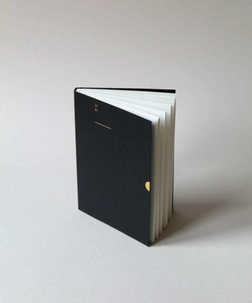 2021 diary black