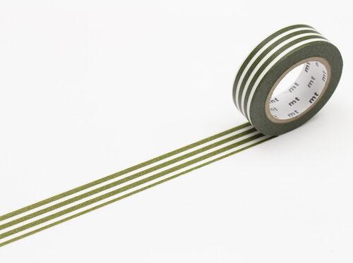 masking tape border olive
