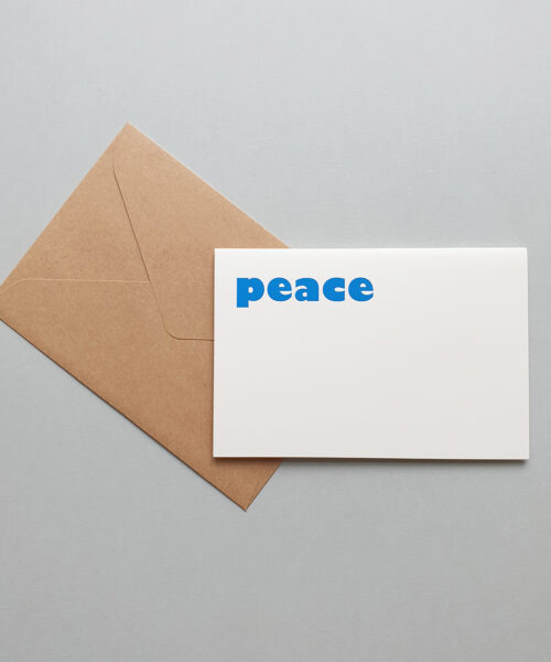 greeting card peace