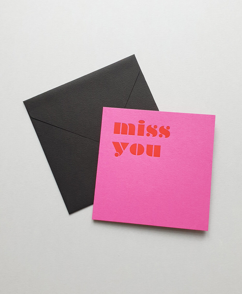 greeting card miss you