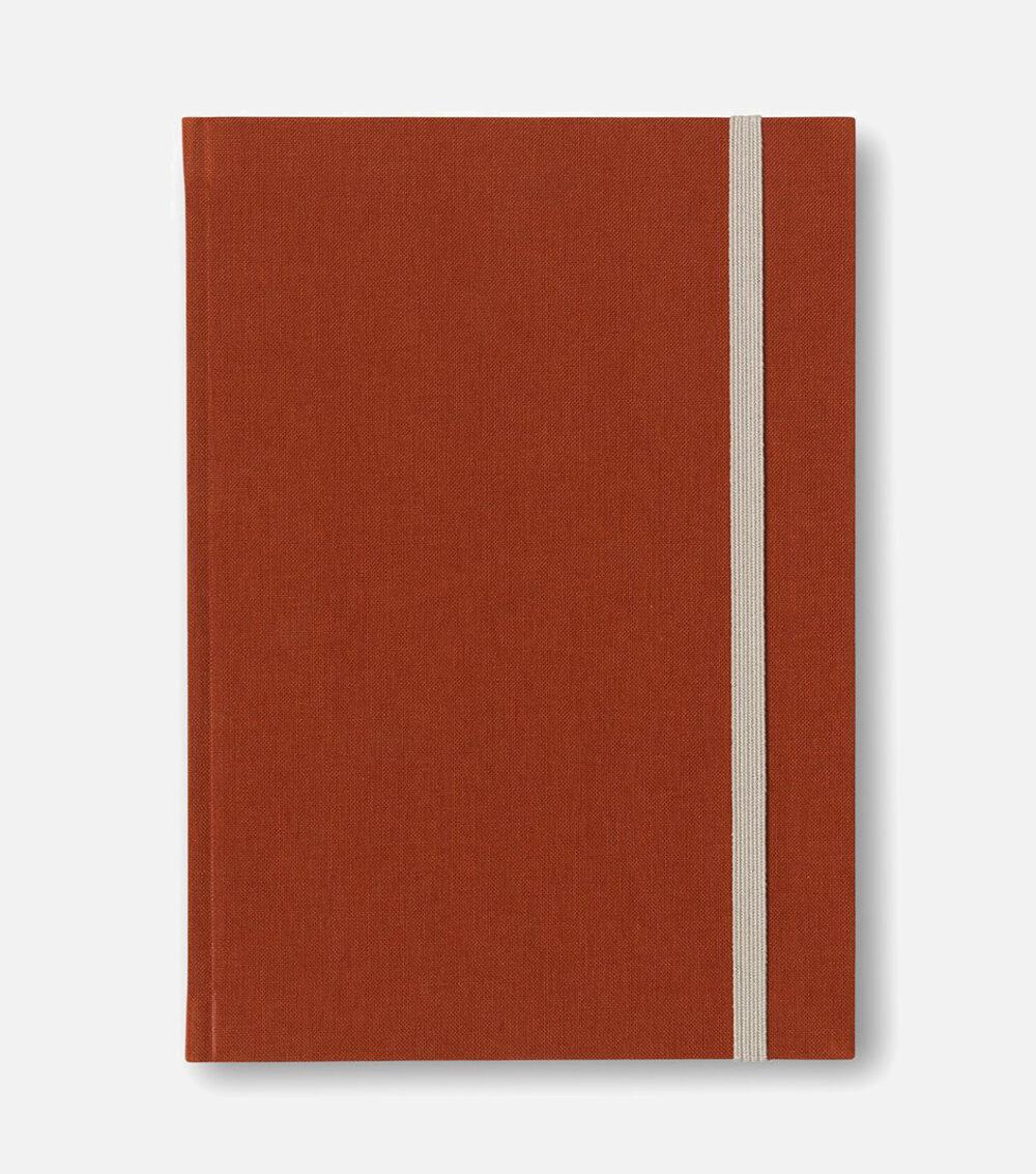 bea notebook dark sienna