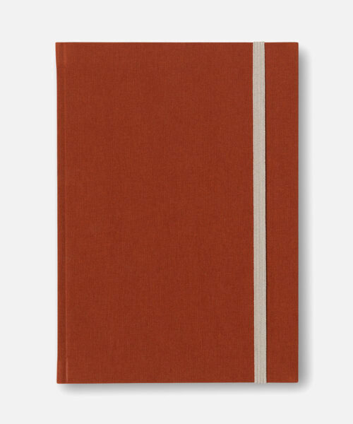 bea notebook dark sienna