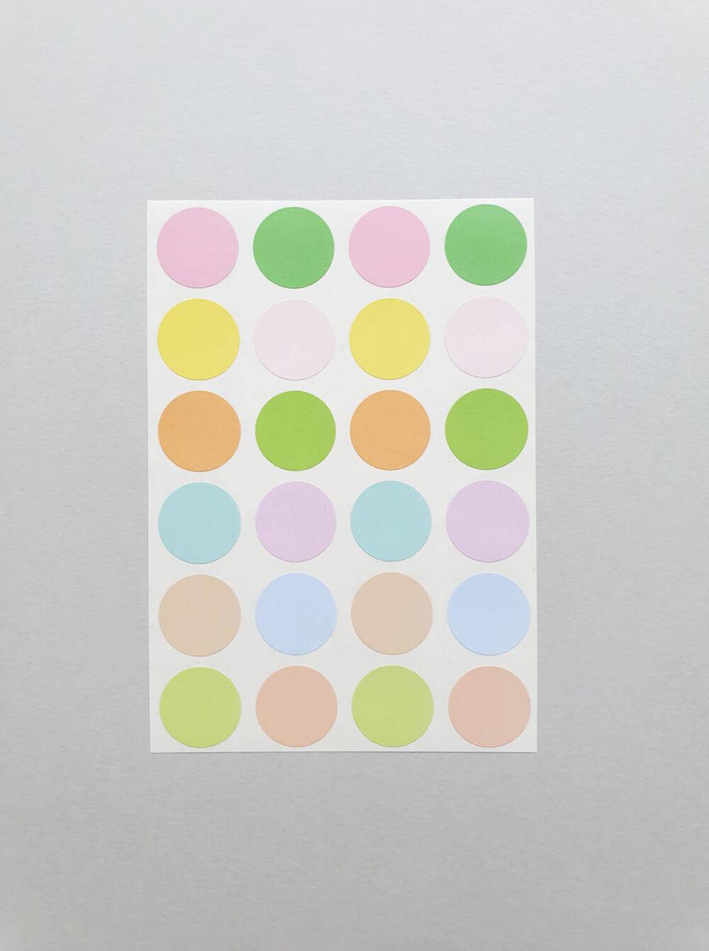 stickers horizon pastels