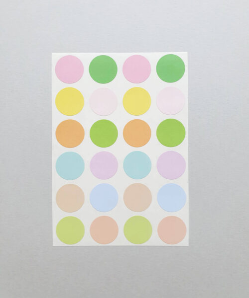 stickers horizon pastels