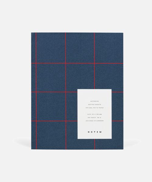 uma notebook medium dark blue